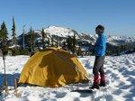 Camp 5 - Golden Hinde Base Camp