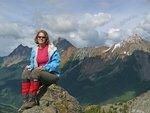 L to R: Canadian Border Peak, American Border Peak and Mt. Larabee