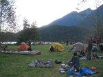 The campground at Granite Falls