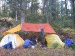 Our weatherproof campsite