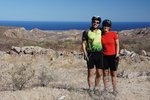 Finally reaching the coast - first glimpse of the Sea of Cortez