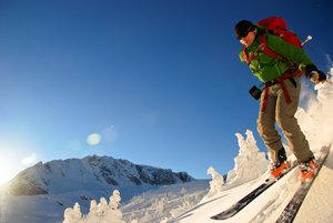 Phil skiing at Phelix Creek