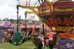 A small fair along the way. Made me sick just to look at some of the rides....