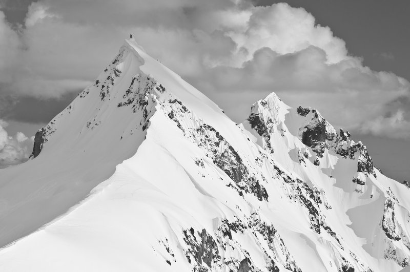 Mount Cayley in May. Photo: Phil Tomlinson