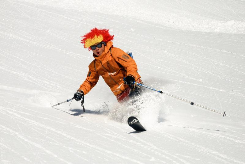 New Year Eve skiing at Phelix Creek. Photo: Eva Kaltenbacher