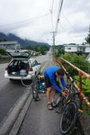Starting point - Prince Rupert, BC. We asked some locals to keep an eye out for our car...