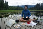 Lunch at Bonus Lake