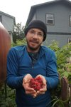In Skagway we found the best raspberries, a seemingly endless supply of them