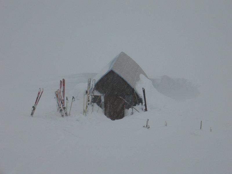 Sphinx Hut Feb 2007. Photo: Roland Burton