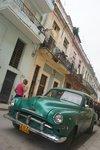 In one of the rougher neighborhoods in central Havana