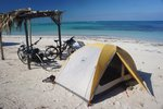 We camped on the beach at Cayo Jutias