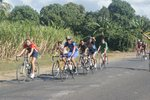 We weren't the only cyclists on the road, we met some local groups of Cuban cyclists