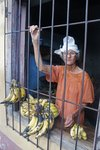 The Banana Lady, on the outskirts of Trinidad She seemed a bit delirious