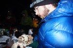 Dessert potluck, Maya baked a Chocolate Babka