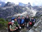 Sky Pilot peak hikers