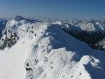 Summit ridge of Kumkan