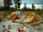 Snowy Tents 2