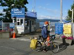 In Crofton, about to board the ferry to Salt Spring Island