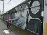 Some neat murals along the Central Valley Greenway