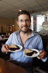 Huckleberry Pie in St. Regis. There appears to be an obsession with Huckleberries in Montana...