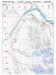 Harrison Hut Trail map