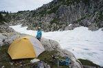 Camp above Wind Lake