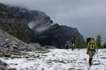 Gibbon Pass was snowy