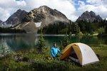 Camp at Aurora Lake