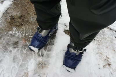 Ski Boots: the best choice of footwear for soggy work hikes