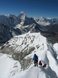 Island Peak Summit Ridge Nepal