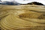 Sand Dunes Along the West Coast
