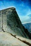 Climbing the Half Dome in Yosemite