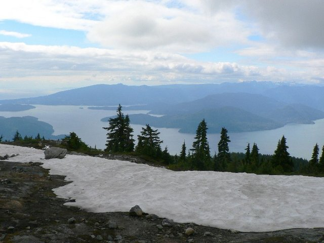 Summit of Mt. Strachan