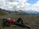 Resting Above Windy Pass