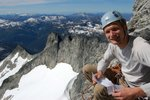 """Chris at the top of """"Pitch 2"""""""