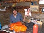 5 Piotr in hut