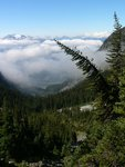 View Down the Valley to the Tantalus Range