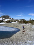 Same lake as before.  Ahh, blue sky!