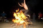 Smith Rock Campfire Jumping