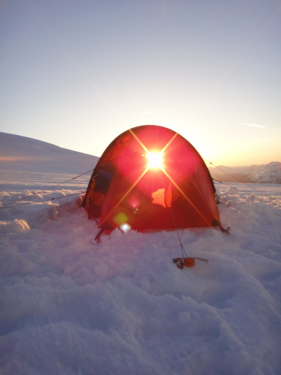 Hilleberg tents protect from everything, except the sun Photo: Artem Bylinskii