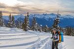 Ski Touring at Red Heather