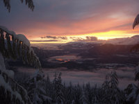 Squamish Valley Sunset