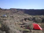 Jade's tent