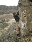 Jade bouldering
