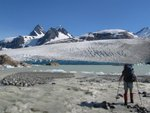 Fyles Glacier and Mount Jacobsen