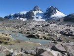 Glacier scoured terrain - tough travelling