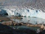 Fyles Glacier icefall
