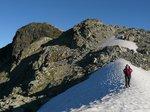 Along the ridge leading to Mt. Fee