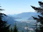 View of Squamish and the Chief
