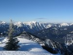 The ridge was icy